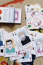 Load image into Gallery viewer, Art Genius Playing Cards - Tigertree