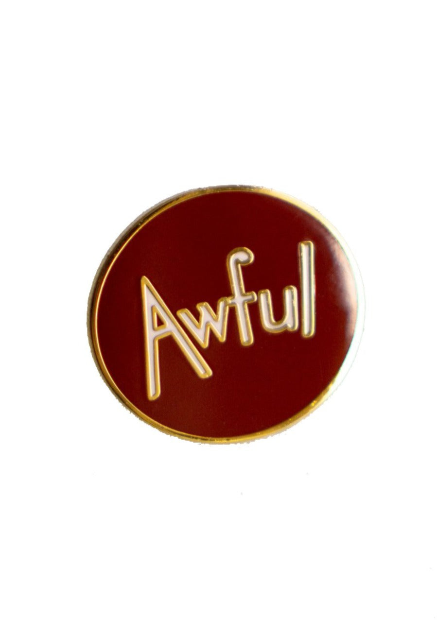 Lapel Pin Awful - Tigertree