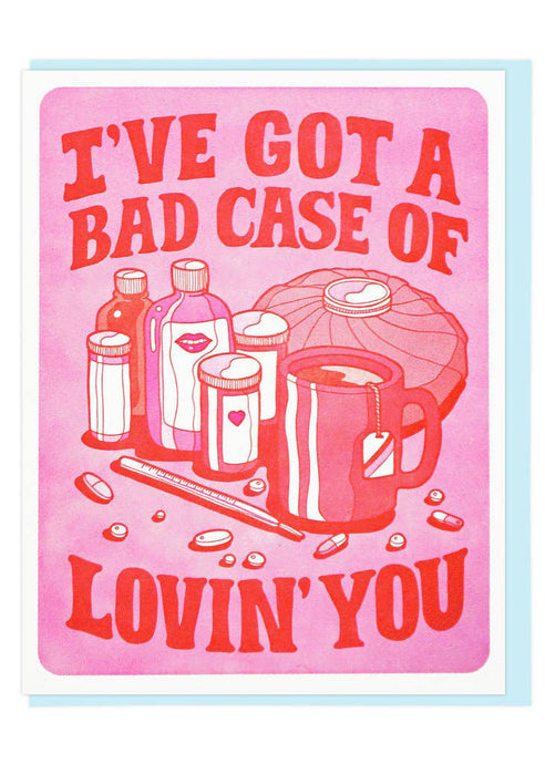 Bad Case Of Lovin' You Card - Tigertree