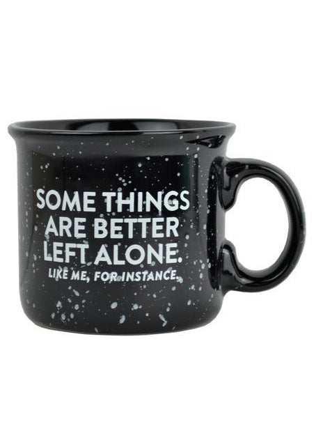 Left Alone Camper Mug - Tigertree