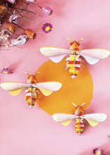 Load image into Gallery viewer, 3D Set Of 3 Honey Bees Kit - Tigertree