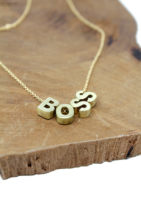 BOSS Necklace - Tigertree