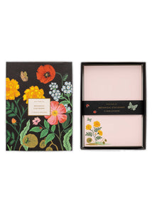 Botanical Social Stationery Set - Tigertree