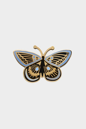 rifle paper butterfly enamel pin
