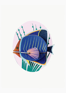3D Butterfly Fish Kit - Tigertree