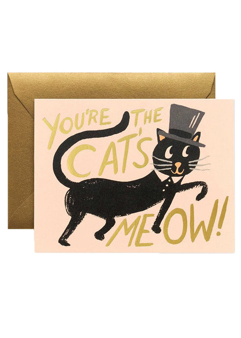 Cat's Meow Card - Tigertree