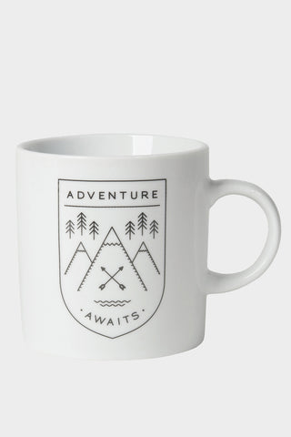 Adventure Awaits Short Mug - Tigertree