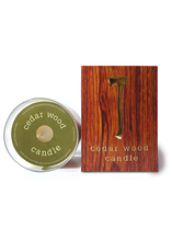 Load image into Gallery viewer, Cedar Wood Candle - Tigertree