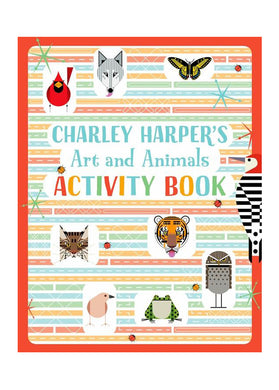 Charley Harper Arts & Animals Activity Book - Tigertree