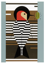 Load image into Gallery viewer, Charley Harper Woodpecker Notecard Folio