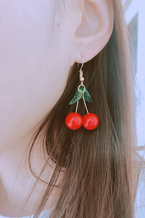 Cherry Baby Earrings