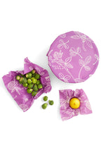 Load image into Gallery viewer, Beeswax Wrap 3 Pack - Clover - Tigertree