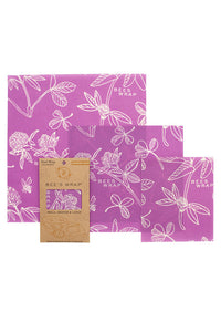 Beeswax Wrap 3 Pack - Clover - Tigertree