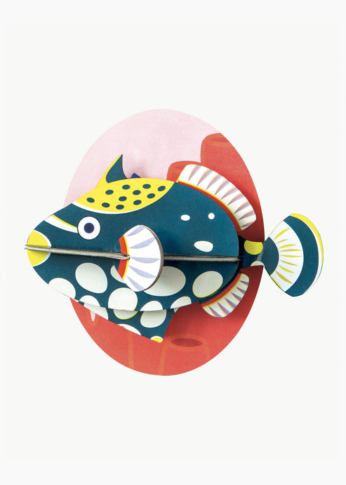 3D Clown Triggerfish Kit - Tigertree