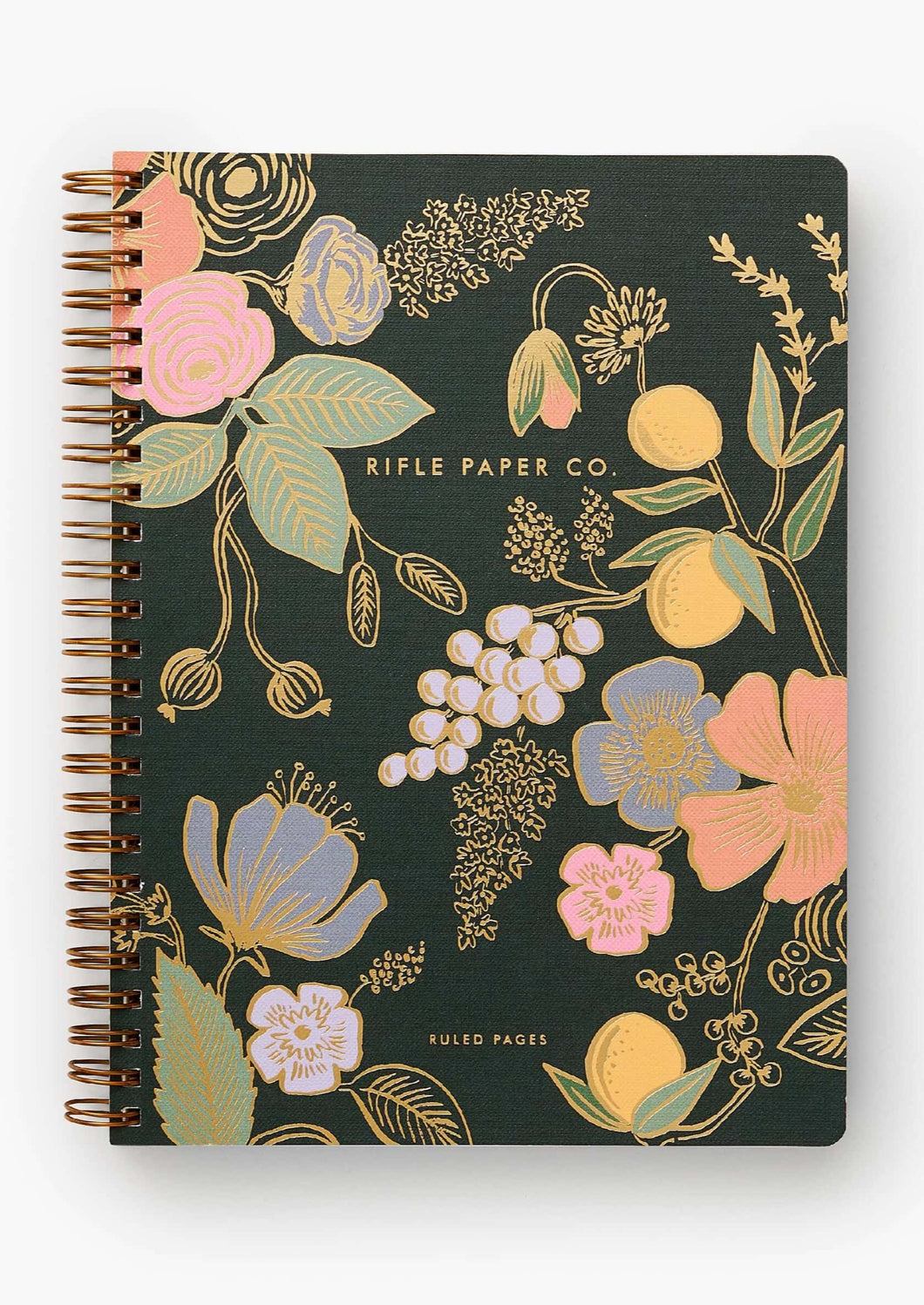 Colette Spiral Notebook - Tigertree