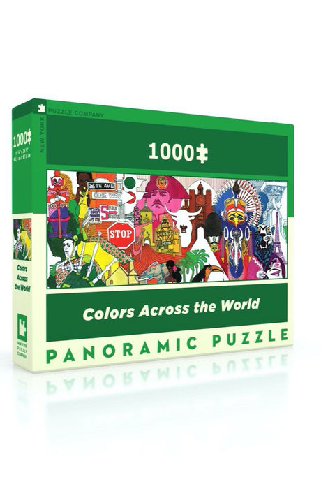 Colors Across The World Puzzle - Tigertree