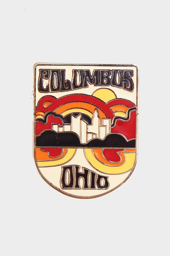 Columbus Enamel Pin
