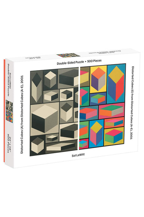 Distorted Cubes Double-Sided Puzzle - Tigertree