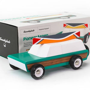 Pioneer Aspen Wooden Car - Tigertree