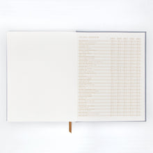 Load image into Gallery viewer, Dusty Blue Details Notebook - Tigertree