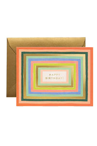 rifle paper co disco birthday card