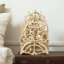 Load image into Gallery viewer, DIY Wooden Pendulum Clock - Tigertree
