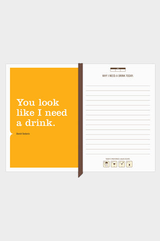 I Need A Drink Mini Journal