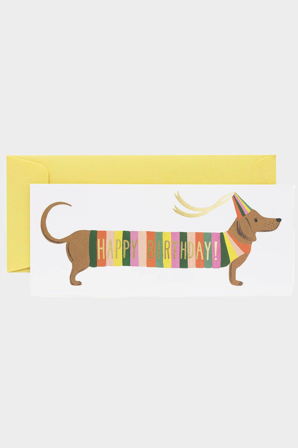 Hot Dog Birthday Card - Tigertree