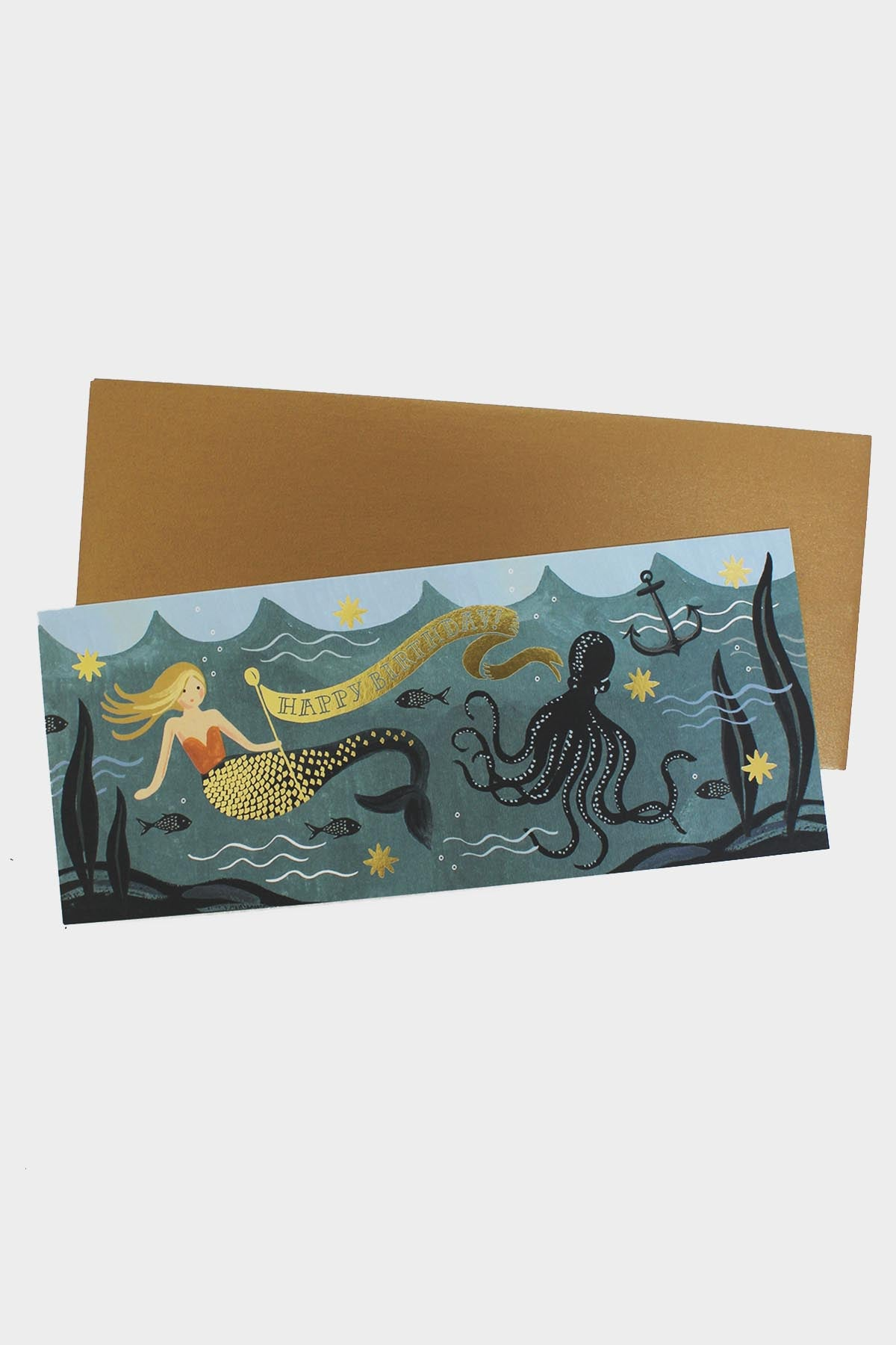 Under the Sea Birthday Card - Tigertree