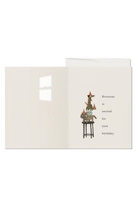 Everyone is Excited Card - Tigertree