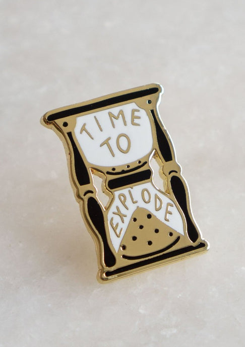 Time to Explode Pin - Tigertree