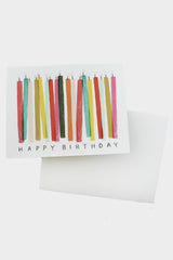 Candle Birthday Card - Tigertree