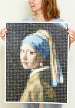 Load image into Gallery viewer, Vermeer Artwork Sticker Poster - Tigertree