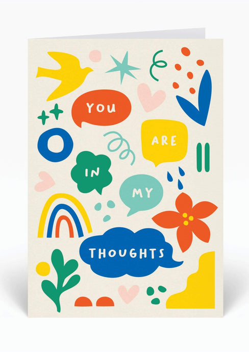 You Are in My Thoughts Card - Tigertree