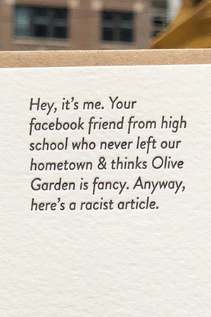 facebook meme card