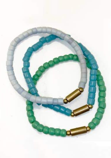 Sage Stretch Bracelet - Tigertree