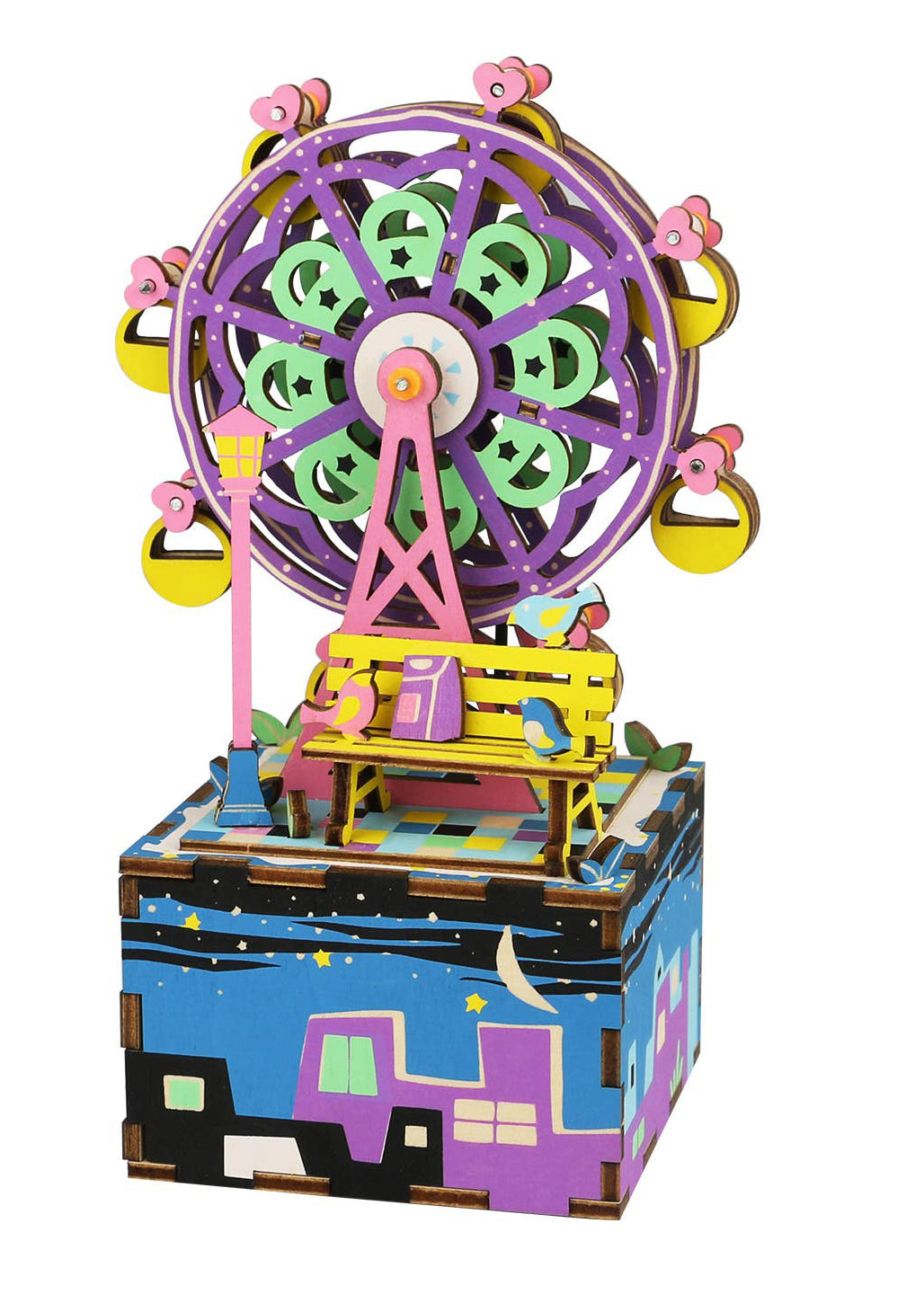 Ferris Wheel Music Box Puzzle - Tigertree