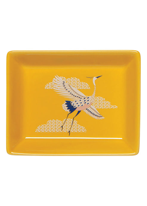 Flight Of Fancy Porcelain Tray - Tigertree