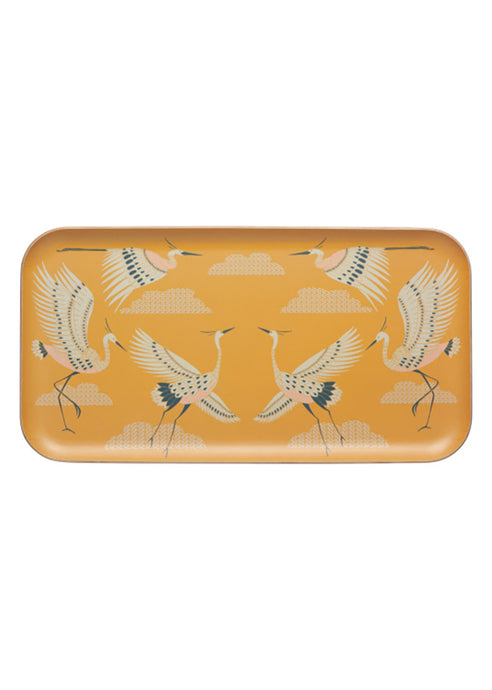 Flight Of Fancy Willow Wood Tray - Tigertree