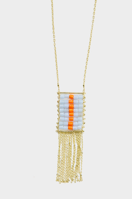 Florentina Necklace Orange - Tigertree
