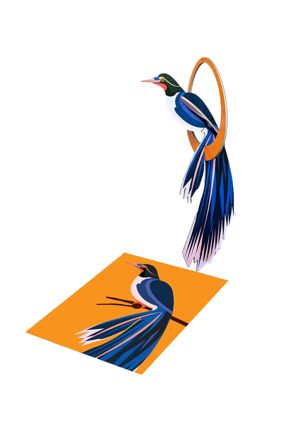 Swinging Flores Popout Card - Tigertree