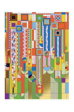 Frank Lloyd Wright Saguaro Puzzle - Tigertree