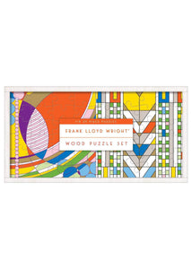 Frank Lloyd Wright Wooden Puzzle Set - Tigertree