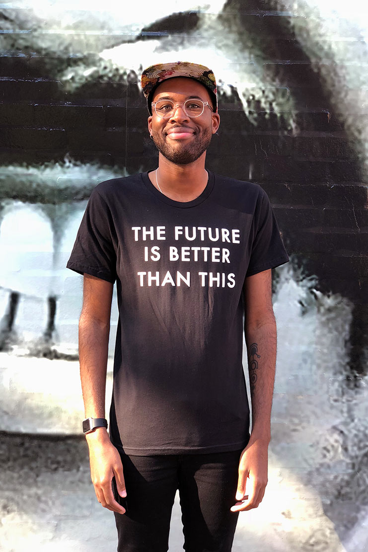 The Future Is Better Tee