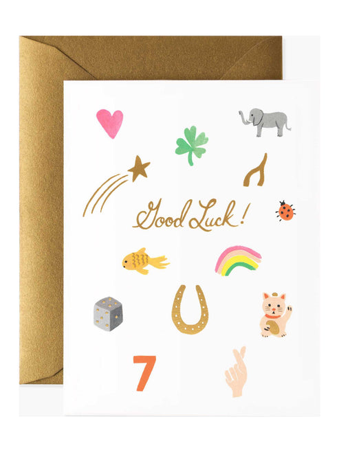 Good Luck Charm Card - Tigertree