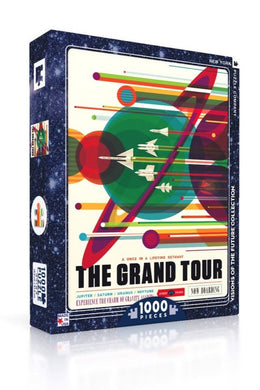 Grand Tour 1000 Piece Puzzle - Tigertree