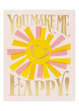Load image into Gallery viewer, You Make Me Happy Card - Tigertree