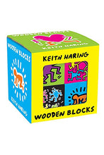 Load image into Gallery viewer, keith Haring Wood Blocks - Tigertree
