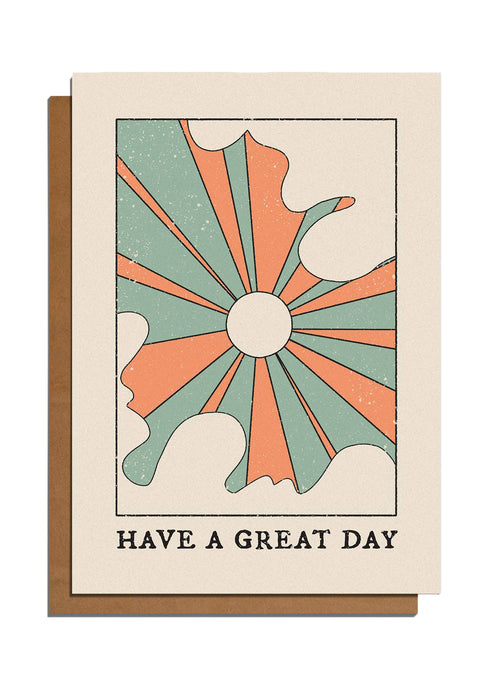 Have A Great Day Sun Card - Tigertree