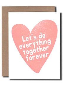 Heart Everything Together Card - Tigertree